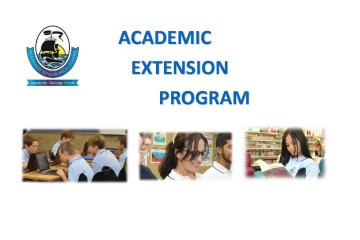 Academic Extension Program